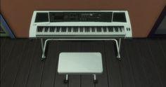 Mod The Sims - TS4 Keyboard Piano