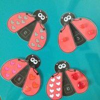 Les coccinelles amoureuses - Atelier Mathématique pour le préscolaire et la première année du primaire