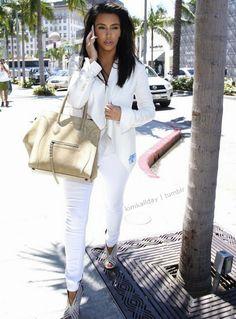 Spring Outfit - Kim Kardashian