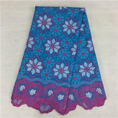 African Embroidery Lace Fabric LKLACE4800-9  https://www.lacekingdom.com/      #embroiderylace