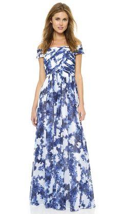 Shoshanna Shoshanna Midnight Arizona Gown