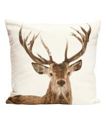 Deer pillow H&M