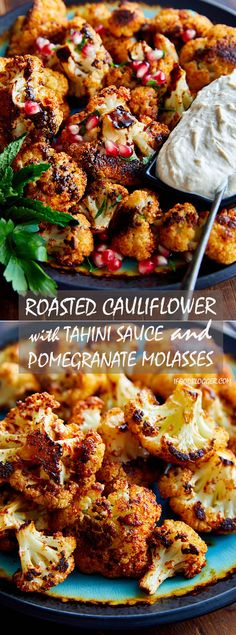 This is the best oven roasted cauliflower recipe, period. I can't imagine there is a better roasted cauliflower recipe out there. A must try! | ifoodblogger.com