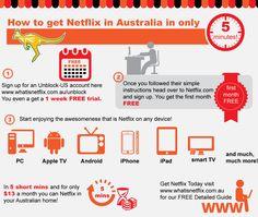 How to get Netflix in Australia