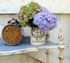 Annie Sloan Chalk Paint Versailles | This piece took quite a lot of time because of all the little parts ...