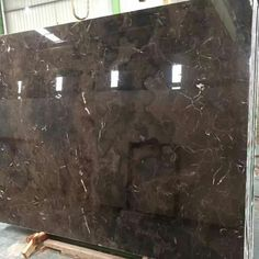 Irish Brown Marble Slab 18mm Thick and Epoxy Resin Polished  Quarry origin from China  To get more info http://www.sellmarblestone.com