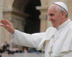 Pope Francis asked those gathered for the Pentecost Vigil Mass at the Vatican to chant Christ's name instead of his own, highlighting his role as Christ's vicar on earth.