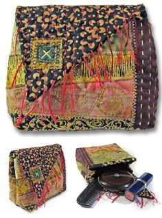 Embroidered Scrappy Pouch ePattern