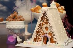 Sugar Plum Fairy Party Part 2: The Dessert Table | TikkiDo.com