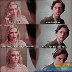 The post & appeared first on Riverdale Memes. Riverdale Series, Riverdale Poster, Riverdale Quotes, Riverdale Cheryl, Bughead Riverdale, Riverdale Funny, Cw Series, Best Series, Archie Comics Riverdale