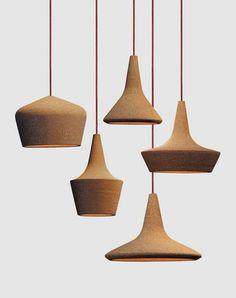 seletti cork lamps