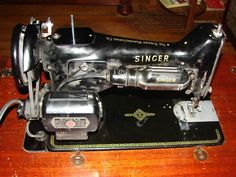 The Vintage Singer Sewing Machine Blog- great tutorials on fixing and servicing old machines.