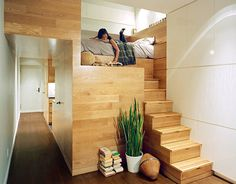 Home Design: Modern Loft Bed With Stairs Home Stair Design Design Ideas For Small Loft Spaces Loft Bed Ideas For Small Spaces, Entrancing Loft Ideas For Small Spaces Loft Ideas For Small Spaces. Loft Bed Ideas For Small Spaces. Loft Bed Ideas For Small Ro New York Apartments, Small Apartments, Small Spaces, Studio Apartments, Hidden Spaces, Hidden Rooms, Studio Spaces, Open Spaces, Luxury Apartments