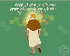 Nanak Dev Ji, Guru Gobind Singh, Gurbani Quotes, Pooja Room Design, Punjabi Quotes, Reality Quotes, Religion, The Creator, Thoughts