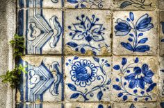 Azulejos, Azulejos de Portugal, Portuguese Tiles, azulejos