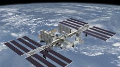 space agency (NASA) successfully with a smooth putting the space shuttle Atlantis on the International Space Station (ISS), Sunday Ver Star Wars, Cosmos, Space Debris, Take Shelter, Tempo Real, Space Facts, Force And Motion, International Space Station, Ufo Sighting