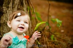 Little Hannah from our recent family portrait session with Kristin and Dan!