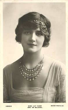 ADORED VINTAGE: Lily Elsie, the most photographed woman of Edwardian times...