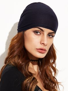 Shop Black Underscarf Tie Back Hijab Cap online. SHEIN offers Black  Underscarf Tie Back Hijab Cap   more to fit your fashionable needs. 0216601cb295