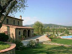 Villa i Civitella in Val di Chiana med 8 Soverom plass for 18 Personer Feriehus i Civitella in Val di Chiana fra @homeaway! #vacation #rental #travel #homeaway