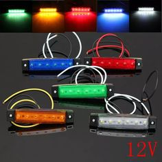 Cheap light mountain bike wheels, Buy Quality lamps and light directly from China light pocket lamp Suppliers: New 6 SMD LED Auto Car Bus Truck Trailer Lorry Side Marker Indicator Light Side Lamp Led Trailer Lights, Car Lights, Carros Suv, Jeep Wrangler Accessories, External Lighting, Cool Electronics, Car Gadgets, Jeep Cars, Ford Explorer