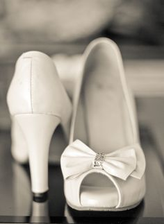 second pair of wedding shoes.
