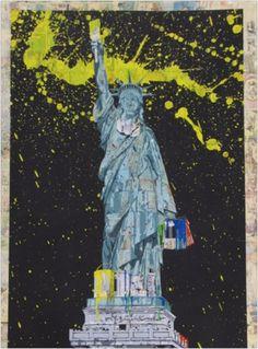 Hierbei handelt es sich um einen handsignierten und per Hand veredelten Siebdruck des bekannten Urban Art Künstlers Mr. Brainwash.    Abmessungen: 56cm x 76cm  Material: Acrylfarbe auf Siebdruck