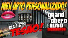 MEU APTO PERSONALIZADO MUITO TESÃO !!! GTA V DLC EXECUTIVOS E OUTROS CRI...