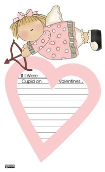 If I Were Cupid on Valentines Day - Writing Prompt