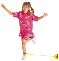 Skip-It! Like a hula hoop jump rope. And it had a counter! It was the original pedometer for kids! ;)