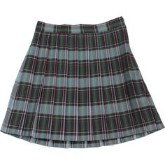 School Uniform Girls' Plaid Knife Pleat Skirt ($32) ❤ liked on Polyvore featuring skirts, bottoms, craig and plaid skirt