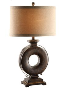 """Kelsey 32.5"""" H Table Lamp with Drum Shade"""