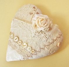 lovely lacey heart.