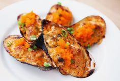 Recipe – Japanese Dynamite Baked Mussels | Miyako Ceramics