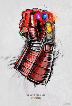 Marvel Studios Releases New Avengers: Endgame Poster for Theater Re-Release, Honors Iron Man - IGN Marvel Avengers, Marvel Comics, Marvel E Dc, Bd Comics, Marvel Heroes, Captain Marvel, Poster Marvel, Thanos Marvel, Disney Drawings
