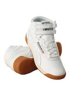 893739046e Reebok Womens Freestyle Hi Fitness Classic Shoe WhitePaper WhiteAthletic  NavyGum 85 M US   Be sure