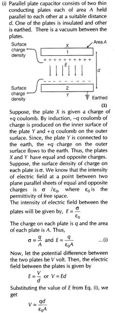 Important Questions for CBSE Class 12 Physics Capacitance Electricity Physics, Bohr Model, Classical Physics, Math Tutorials, Chemistry Notes, Theoretical Physics, Quantum Mechanics, Brain Food, Electrical Engineering