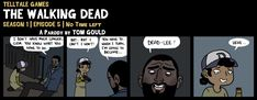 TWD S1E5 | Dying... of Laughter (SPOILERS) by TheGouldenWay on DeviantArt