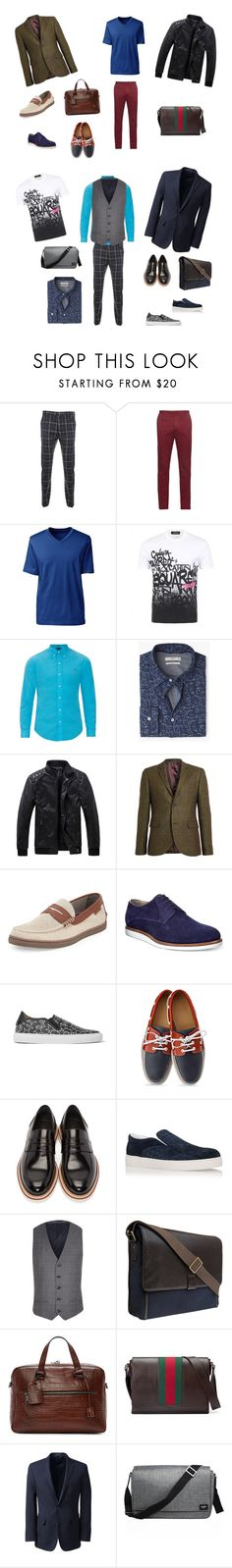 """""""2"""" by madlily86 on Polyvore featuring косметика, Vivienne Westwood Man, Incotex, Lands' End, Dsquared2, Polo Ralph Lauren, MANGO, Topman, Cole Haan и HUGO"""