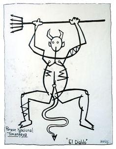 El Diablo, Timanfaya, Cesar Manrique
