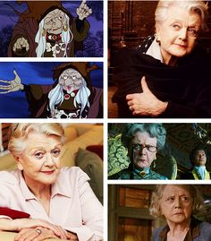 """The Last Unicorn"" live action fancast: Angela Lansbury as Mommy Fortuna (courtesy of theboyfallsfromthesky.tumblr.com)"