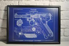 WWII German Luger Pistol Patent Print Framed P08 WW2 P.08 Original Reproduction  #Luger #Blueprint #LugerPistol #patentposter #firearm #policegift #poster #patentprint #gunart #P08 #wallsdecor #germanmilitary #9mmroundforsale #germanhandgun #drawing #drawingposter #Parabellum1908 #Parabellum #ParabellumPistole #ParabellumPistol #WorldWarII #WWII #trenchart #trenchartstudio