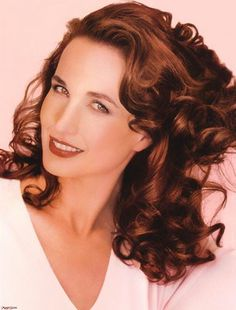 Andie MacDowell, love her love the accent!