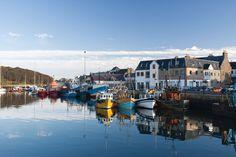 Stornoway, Isle of Lewis, Scotland <3