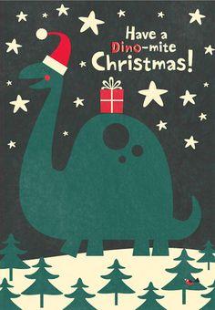 Have a Dino-mite Christmas! Merry Christmas, Christmas Love, Christmas Countdown, Christmas Greeting Cards, Christmas Pictures, Christmas Greetings, Winter Christmas, Vintage Christmas, Christmas Crafts