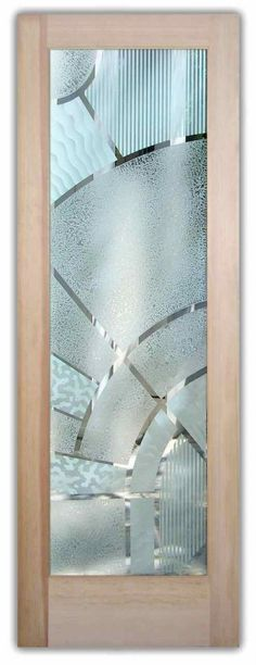 glass doors etched glass geometric modern decor sans soucie