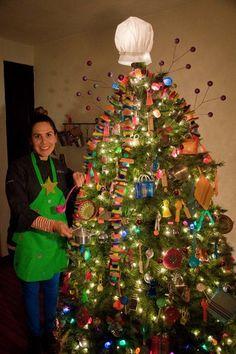 Estoy participando en el concurso de arbolitos de navidad de Martha Debayle. ¿No quedó increíble mi arbolito? ¡Vota por él!