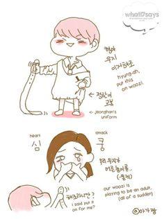 [150822] Woozi and Jeonghan Fanart by aka22ang