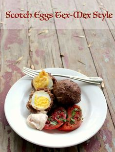 Low Carb Scotch Eggs Tex Mex Style Shared on https://www.facebook.com/LowCarbZen