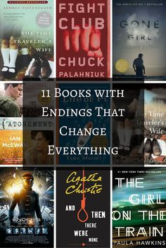 These dark and twisty novels will appeal to fans of Gone Girl and The Girl on the Train | 11 Books with Endings That Change Everything